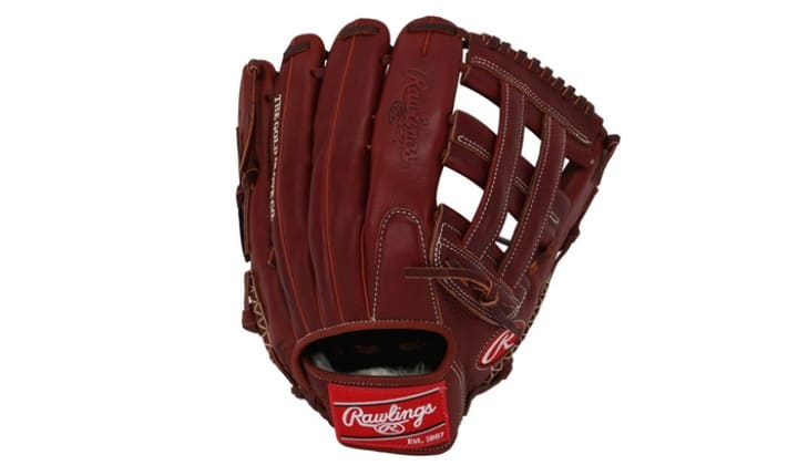 Material baseball glove for big hands